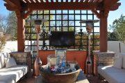 Фото 36 Решетки для беседки: особенности конструкций и 75 вдохновляющих идей для вашего сада