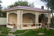 Фото 10 Решетки для беседки: особенности конструкций и 75 вдохновляющих идей для вашего сада