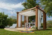 Фото 11 Решетки для беседки: особенности конструкций и 75 вдохновляющих идей для вашего сада