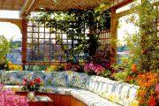 Фото 37 Решетки для беседки: особенности конструкций и 75 вдохновляющих идей для вашего сада