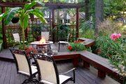 Фото 38 Решетки для беседки: особенности конструкций и 75 вдохновляющих идей для вашего сада