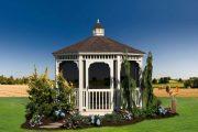 Фото 41 Решетки для беседки: особенности конструкций и 75 вдохновляющих идей для вашего сада