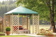 Фото 12 Решетки для беседки: особенности конструкций и 75 вдохновляющих идей для вашего сада