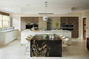 Фото 4 Стол из искусственного камня на кухню: воплощение доступного аристократизма и 70 элегантных вариантов