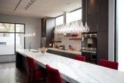 Фото 5 Стол из искусственного камня на кухню: воплощение доступного аристократизма и 70 элегантных вариантов
