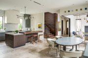Фото 7 Стол из искусственного камня на кухню: воплощение доступного аристократизма и 70 элегантных вариантов