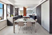 Фото 14 Стол из искусственного камня на кухню: воплощение доступного аристократизма и 70 элегантных вариантов