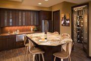 Фото 18 Стол из искусственного камня на кухню: воплощение доступного аристократизма и 70 элегантных вариантов