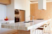 Фото 20 Стол из искусственного камня на кухню: воплощение доступного аристократизма и 70 элегантных вариантов