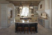 Фото 23 Стол из искусственного камня на кухню: воплощение доступного аристократизма и 70 элегантных вариантов