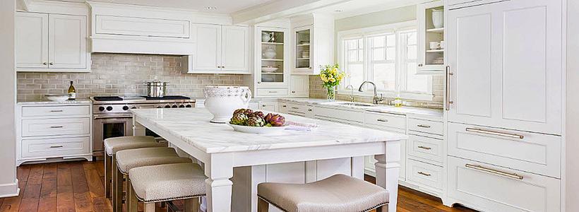 Стол из искусственного камня на кухню: воплощение доступного аристократизма и 70 элегантных вариантов