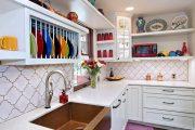 Фото 29 Сушилка для посуды в шкаф: советы по выбору и 70 практичных вариантов для современного интерьера