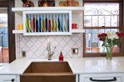 Фото 20 Сушилка для посуды в шкаф: советы по выбору и 70 практичных вариантов для современного интерьера