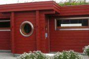 Фото 3 Проекты бань из клееного бруса: 70+ комфортных вариантов для загородного коттеджа