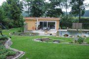 Фото 4 Проекты бань из клееного бруса: 70+ комфортных вариантов для загородного коттеджа