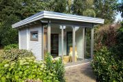 Фото 6 Проекты бань из клееного бруса: 70+ комфортных вариантов для загородного коттеджа