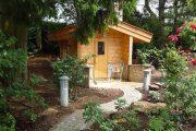 Фото 7 Проекты бань из клееного бруса: 70+ комфортных вариантов для загородного коттеджа
