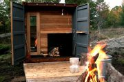 Фото 11 Проекты бань из клееного бруса: 70+ комфортных вариантов для загородного коттеджа