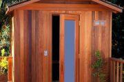 Фото 22 Проекты бань из клееного бруса: 70+ комфортных вариантов для загородного коттеджа