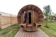 Фото 26 Проекты бань из клееного бруса: 70+ комфортных вариантов для загородного коттеджа