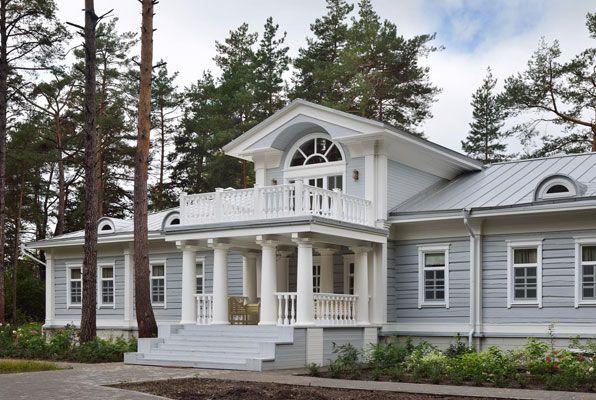 мезонин - что это? Одноэтажный дом с мезонином в классическом стиле
