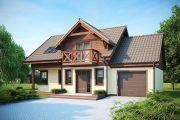 Фото 7 Дом с мезонином: отличия от мансарды и обзор комфортных вариантов планировки
