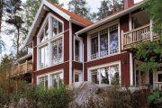 Фото 11 Дом с мезонином: отличия от мансарды и обзор комфортных вариантов планировки