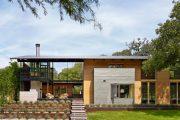 Фото 14 Дом с мезонином: отличия от мансарды и обзор комфортных вариантов планировки