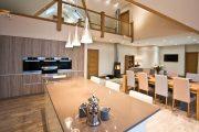 Фото 21 Дом с мезонином: отличия от мансарды и обзор комфортных вариантов планировки