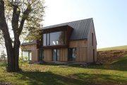 Фото 26 Дом с мезонином: отличия от мансарды и обзор комфортных вариантов планировки