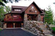 Фото 27 Дом с мезонином: отличия от мансарды и обзор комфортных вариантов планировки
