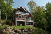 Фото 29 Дом с мезонином: отличия от мансарды и обзор комфортных вариантов планировки