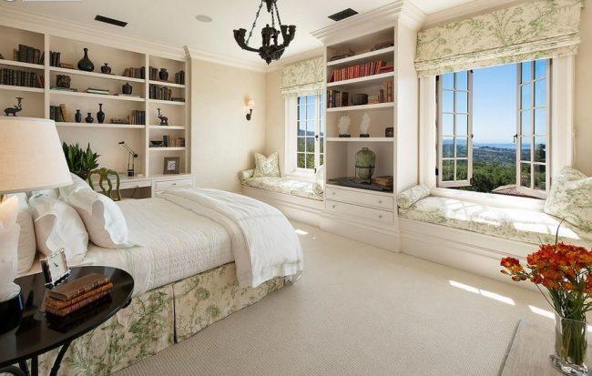 Классический итальянский стиль в оформлении спальни