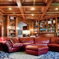 Кессонные потолки из дерева: 85 вариантов отделки для настоящих аристократов фото