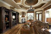 Фото 7 Кессонные потолки из дерева: 85 вариантов отделки для настоящих аристократов