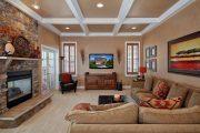 Фото 18 Кессонные потолки из дерева: 85 вариантов отделки для настоящих аристократов