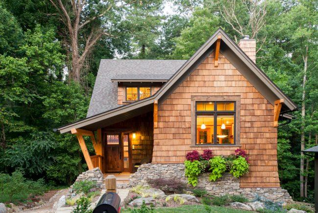 Чудесный маленький дом со сказочным дизайном
