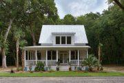 Фото 28 Маленькие дома для постоянного проживания: обзор наиболее комфортных и уютных проектов