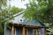 Фото 37 Маленькие дома для постоянного проживания: обзор наиболее комфортных и уютных проектов