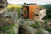Фото 42 Маленькие дома для постоянного проживания: обзор наиболее комфортных и уютных проектов