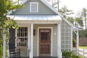 Фото 43 Маленькие дома для постоянного проживания: обзор наиболее комфортных и уютных проектов