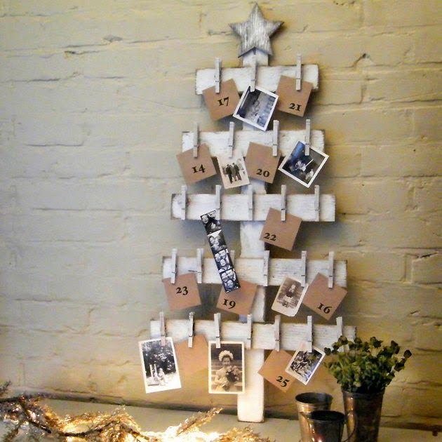 Необычная елка для офиса с фотографиями