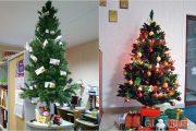 Фото 20 Как украсить офис к Новому году: 80 простых и элегантных вариантов