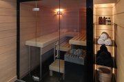 Фото 3 Печи для бани на дровах с баком: 90 максимально функциональных и продуманных реализаций