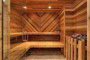 Фото 6 Печи для бани на дровах с баком: 90 максимально функциональных и продуманных реализаций