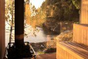 Фото 11 Печи для бани на дровах с баком: 90 максимально функциональных и продуманных реализаций