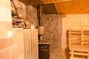 Фото 13 Печи для бани на дровах с баком: 90 максимально функциональных и продуманных реализаций