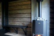 Фото 14 Печи для бани на дровах с баком: 90 максимально функциональных и продуманных реализаций