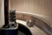Фото 15 Печи для бани на дровах с баком: 90 максимально функциональных и продуманных реализаций