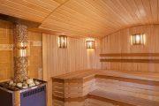 Фото 17 Печи для бани на дровах с баком: 90 максимально функциональных и продуманных реализаций